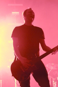Ben Kasica of Skillet's silhouette