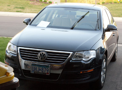 Our 2007 Volkswagen Passat before trade-in