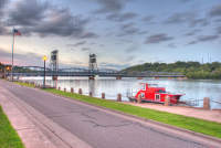 Stillwater Lift Bridge in HDR