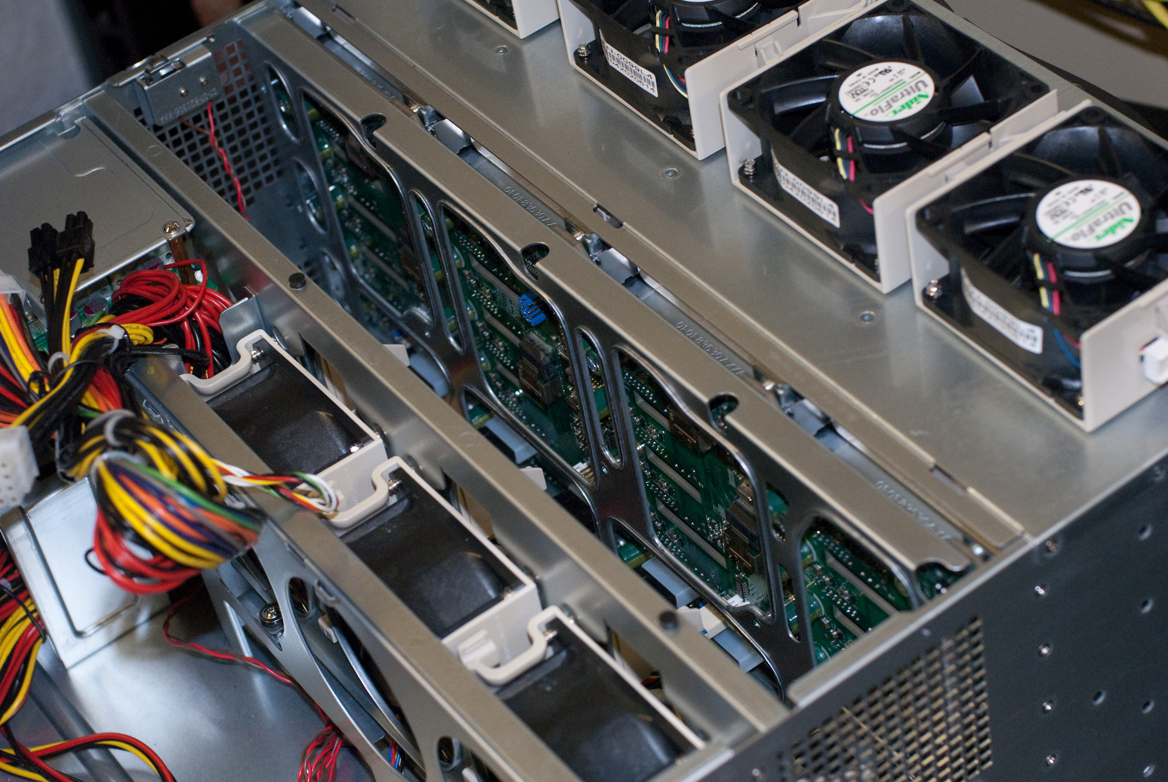 Hardware Supermicros Sc847a 4u Chassis With 36 Drive Bays Jbod Wiring Diagram Supermicro R1400lpb Front Backplane