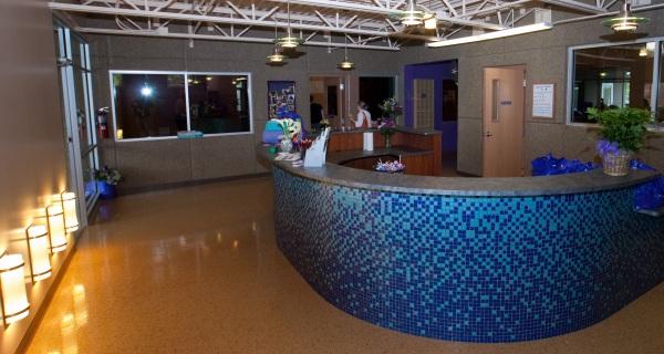 Woofdah's new lobby