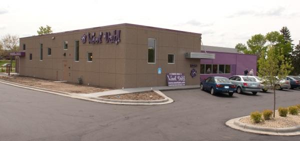 Woofdah's new building