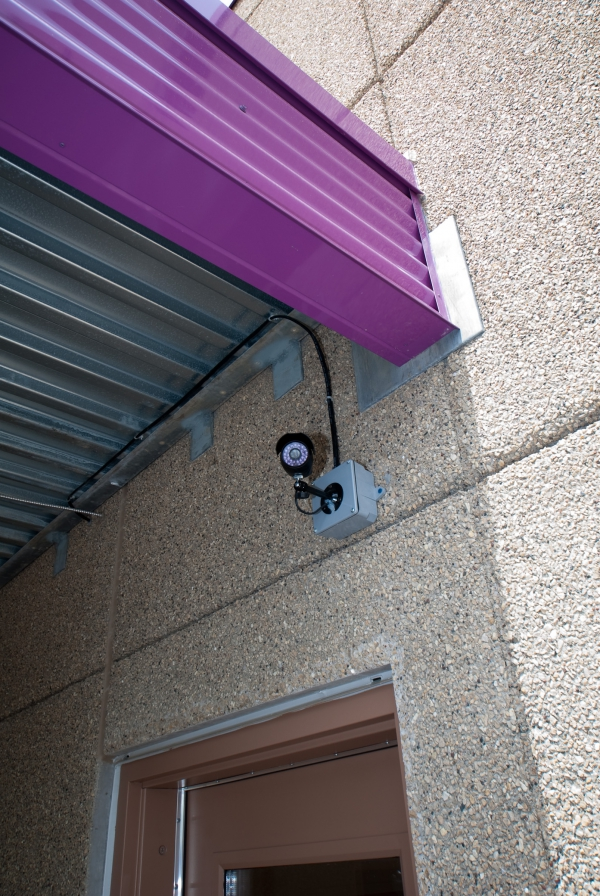 Camera overlooking the play yard